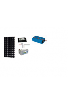 KIT SOLAR BASIC 600 WH/DIA